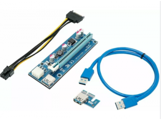 PCIe 16x to 1x Riser Adapter Cards (Bulk Qty Available)