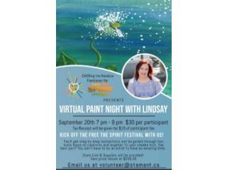 Virtual Paint Night Fundraiser
