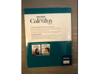 Nelson Conquering Calculus Book