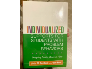 Individualized Supports for Students with Problem Behaviours