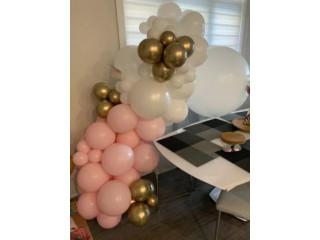 Birthday Party balloons garland