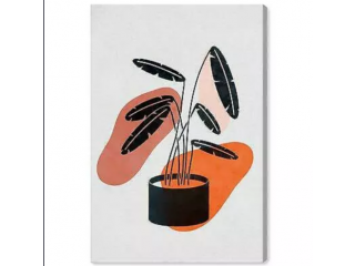 Oliver Gal Floral And Botanical 'A Plant In A Pot ' By Oliver Gal Wall Art Print - 82% Off