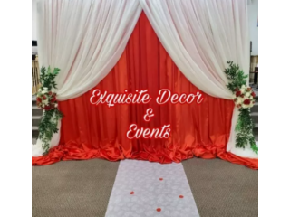 EXQUISITE DECOR & EVENTS One Stop Shop For All Your Event Needs