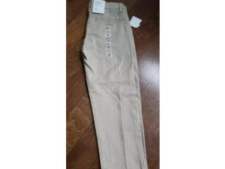 Girls beige gap pants school uniform size 6 *new*