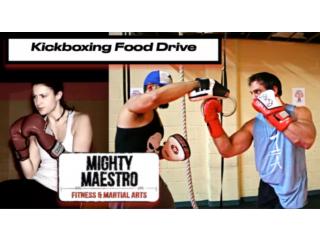 Kickboxing Style Fitness Fundraiser