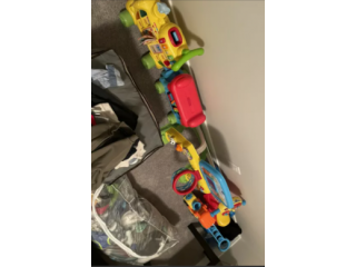 Kids toys and clothes