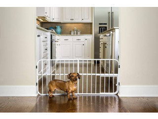 Carlson - Small Dog Indoor Dog Gate - Practically New (Toronto, Ontario)