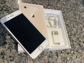 Perfect condition I phone 8 rose gold