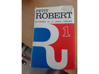 Petit Robert 1 Dictionnaire - Full Size French Dictionary