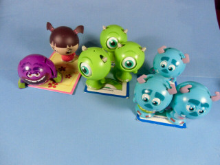 Monsters Inc ZOOBLES by Spin Master ~ - Sulley Mike