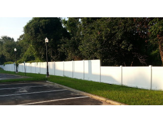 Vinyl Fence - high quality with affordable price