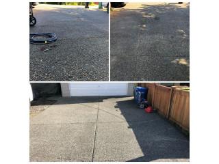 Driveway Pressure washing summer service