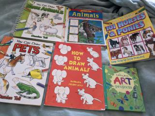 6 how to draw / art kids books