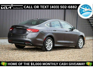 2015 Chrysler 200 4dr Sdn C FWD for sale