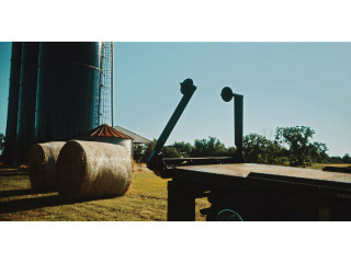 Chisholm Trail Bale Bed INSTALLED