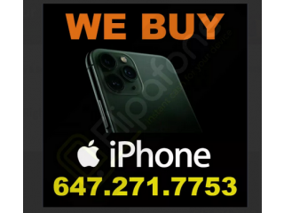 I will BUY your PHONE for Cash Right Now!