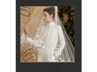 Bridal Veil White/Ivory Wedding