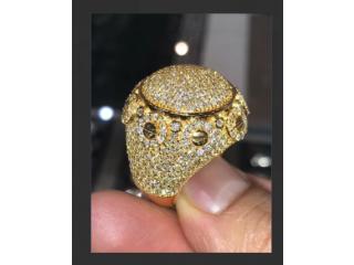 Diamond ring 6.33ct certified with vs diamond Alkamisi