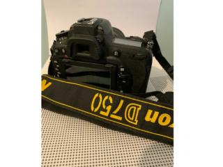 Nikon D750 camera, Nikon lenses, camera bag and accessories